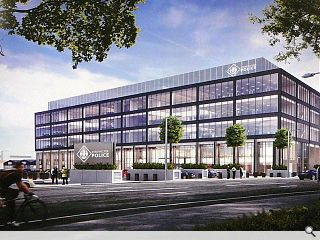 Strathclyde Police submit Dalmarnock HQ plans