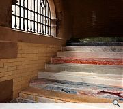 Scotsman Steps, McGregor Bowes + Haworth Tompkins. Gautier Deblonde photography