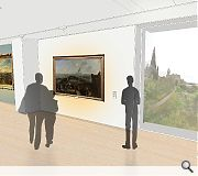 Additional gallery spaces will be carved out of surplus offices and galleries dating from the seventies