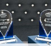 The hefty glass trophies reflect the growing weight being given to sustainable principles early in the design process