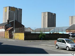 GHA begin demolition of three Govan tower blocks