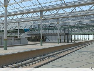 £23m Waverley Station extension on track
