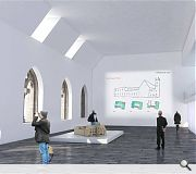 A civic space for public meetings will be included in the build