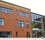 Calderhead High has been described as a 'fabulous boost to the community of Shotts' by its head teacher