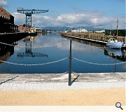 Greenock's dockside has been renovated to create a major new public space