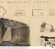 A varied body of work includes this plan for a new mortuary chapel