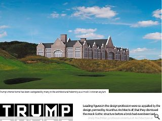Trump Clubhouse handed Zit award