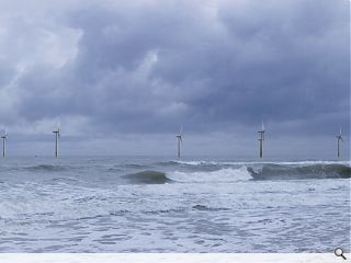 Offshore windfarm becalmed amidst market fears
