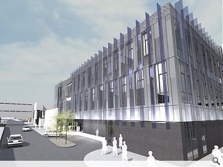 University of Glasgow progress £16m medical imaging facility