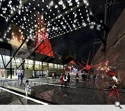 At the projects heart will be a flexible, multipurpose performance space
