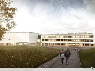 Work gets underway at £38m Forfar Community Campus