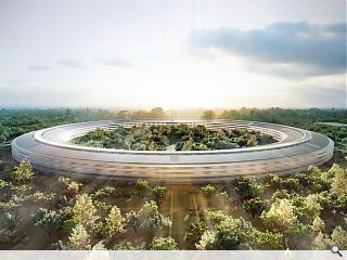 Foster submits detailed designs for Apple's 'flying saucer' campus