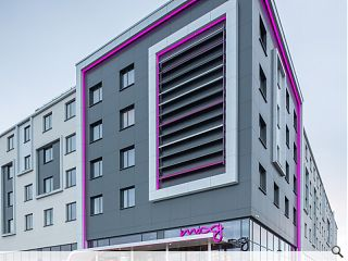 Edinburgh Airport's Moxy Hotel opens for business