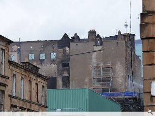 Devastating fire leaves Glasgow School of Art in a parlous state