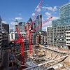 Cranes mark rise of latest recruit to London's skyscraper menagerie