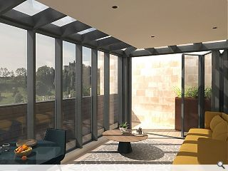 Rooftop extension to bring new life to A-listed New Town bank