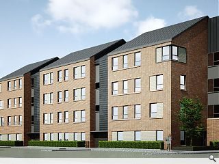 CCG and Mast team up for Govanhill infill