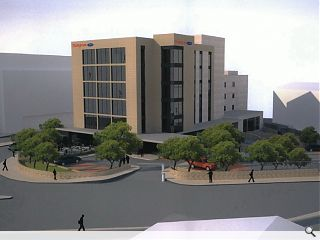 Dundee office re-clad to usher in new Hampton by Hilton hotel