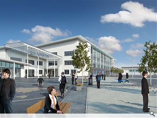 Ellon Academy Community Campus nears completion