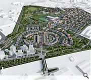 The full masterplan will take a decade to complete