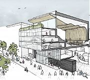 The Glasgow Royal Concert Hall's northern entrance will be remodelled