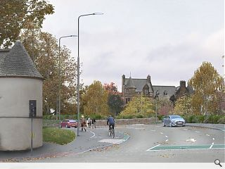 Stirling inner ring road missing link proposed