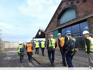 Dundee waterfront offices take shape