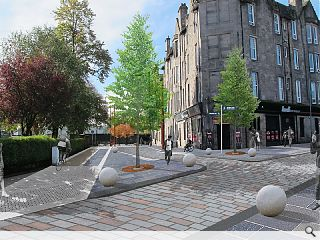Dumbarton townscape improvements tackle first impressions