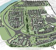 The development will connect through to the River Ness