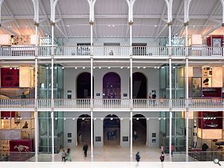 National Museum of Scotland refresh spotlighted