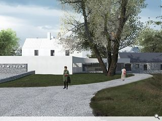 Reiach & Hall win Kilmartin House Museum competition