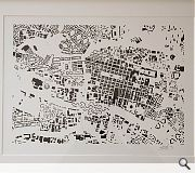 David Gardner has submitted this alternative map of Glasgow city centre