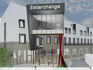 Construction begins on £5.2m Galashiels Transport Interchange