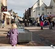 Austin Smith Lord's Kilwinning High Street is a finalist in the public realm/landscaping category