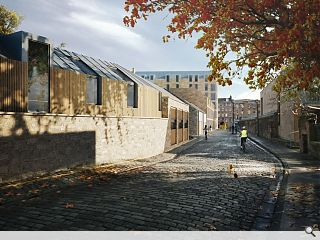JM submit Edinburgh University postgraduate housing plan
