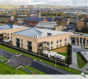 Courtyard accommodation houses 84 residents with a further 50 day care places available