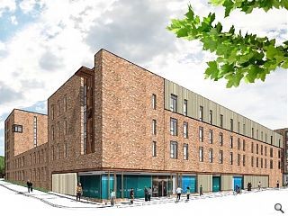 Oberlanders submit Towhead student flats scheme for planning