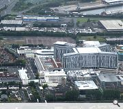 The giant Southern General Hospital has transformed the Govan skyline
