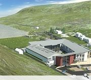 Sir E Scott school on Harris will be extended with the addition of a new Primary school and nursery