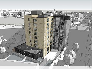 CDA brings up the rear at Haymarket hotel extension