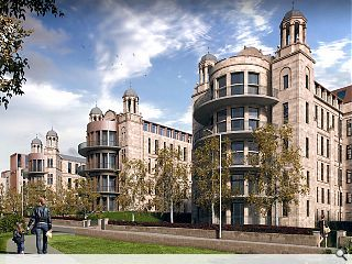 Victoria Infirmary resuscitated with 413-home plan