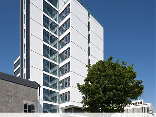 University of Edinburgh's Appleton Tower over-cladding project completes