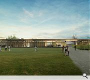 A mix of uses will be catered for in the new hall including sports, drama and a meeting space for local organisations