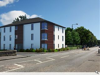 Housing need addressed by affordable Falkirk apartments