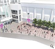 The Concert Hall steps will make way for a new public space