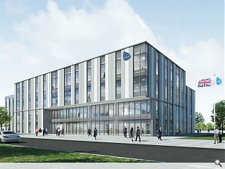 Keppie draw up plans for secure 60,000sq/ft office block at Rosyth Dockyard