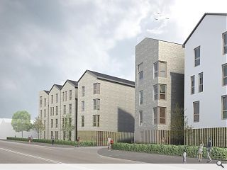 Dundee affordable flats scheme to move on-site next month