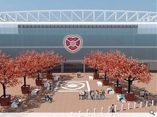 Hearts main stand rebuild secures approval