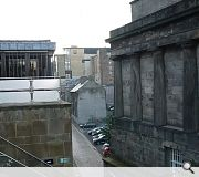 The development will open up views to Calton Hill