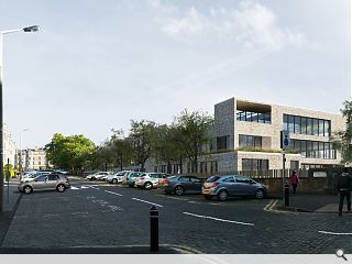 Edinburgh's James Gillespie High School breaks ground